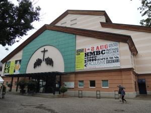 Oberammergau 公演受難劇的劇場