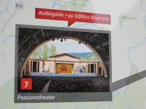 Oberammergau 劇場內部結構